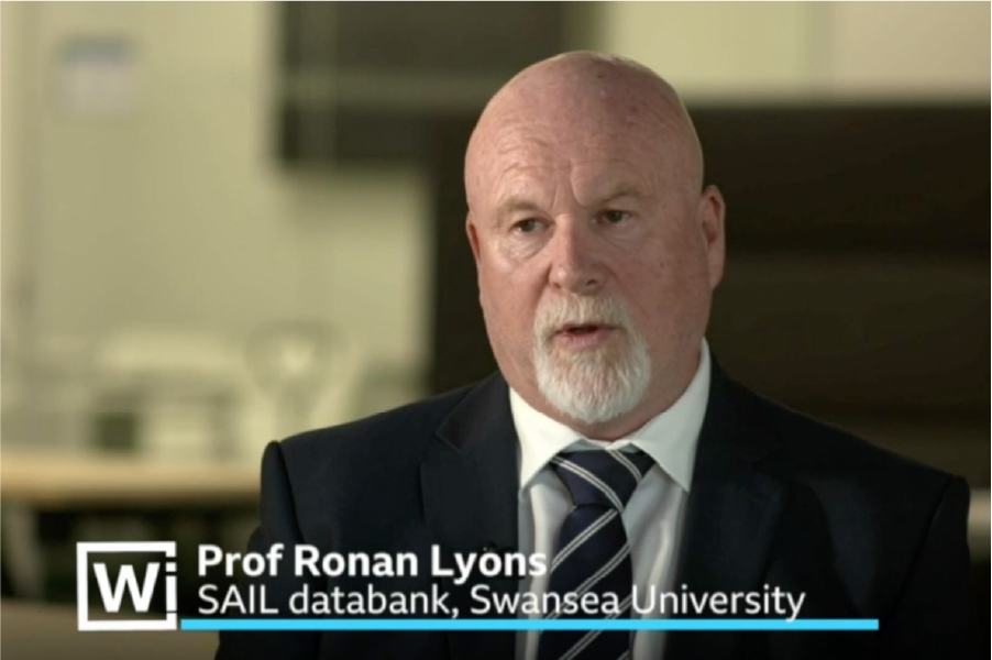 SAIL Databank featured in 'BBC Wales Investigates' the hidden costs of COVID-19